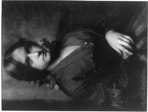 Gertrude Käsebier: Portrait of Josephine or Miss B