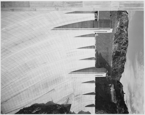 Ansel Adams: Close-Up Photograph of Boulder Dam