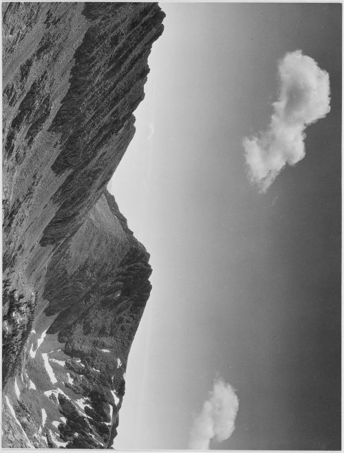 "Ansel Adams: ""Coloseum Mountain, Kings River Canyon (Proposed as a national park),"" California, 1936"