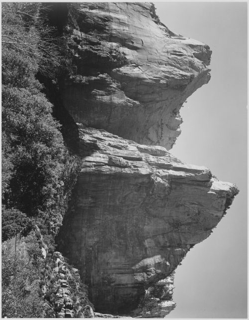"Ansel Adams: ""Court of the Patriarchs, Zion National Park,"" Utah"