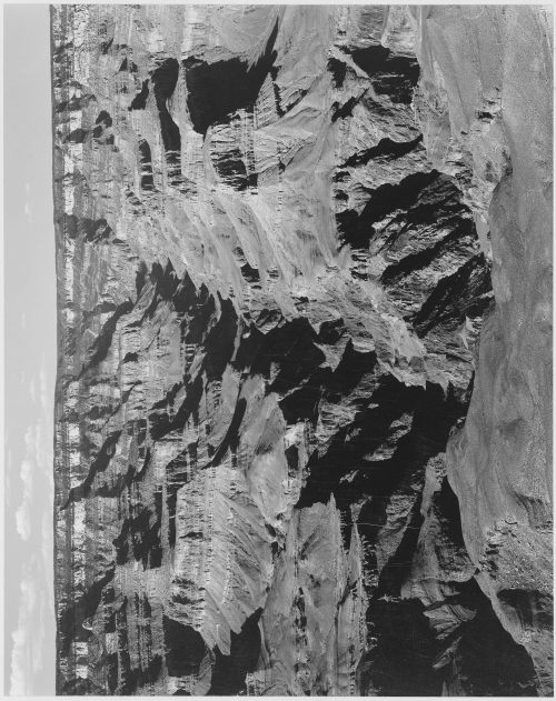"Ansel Adams: Lighter shadows, ""Grand Canyon National Park,"" Arizona"