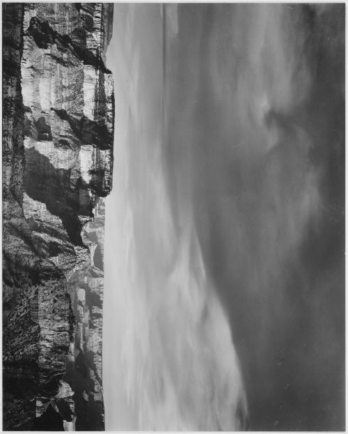 "Ansel Adams: View from the North Rim, ""Grand Canyon National Park,"" Arizona"