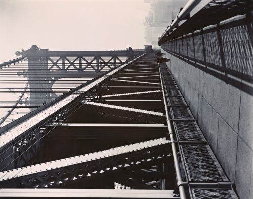 Berenice Abbott: Manhattan Bridge, Manhattan