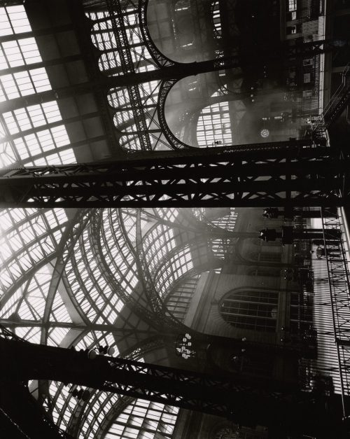 Berenice Abbott: Penn Station, Interior, Manhattan
