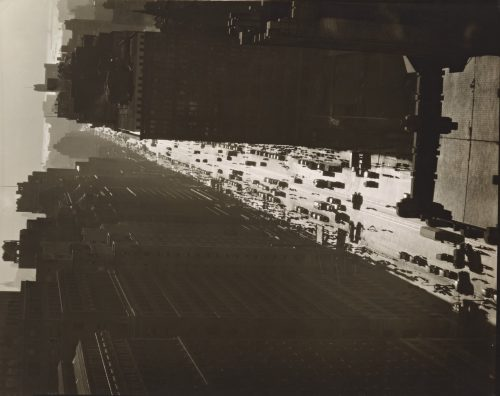Berenice Abbott: Seventh Avenue looking south from 35th Street, Manhattan