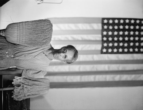 Gordon Parks: Washington, D.C. Government charwoman
