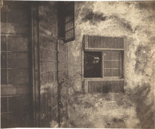Charles-Victor Hugo with Auguste Vacquerie: Auguste Vacquerie at a Window, Marine Terrace, c. 1853