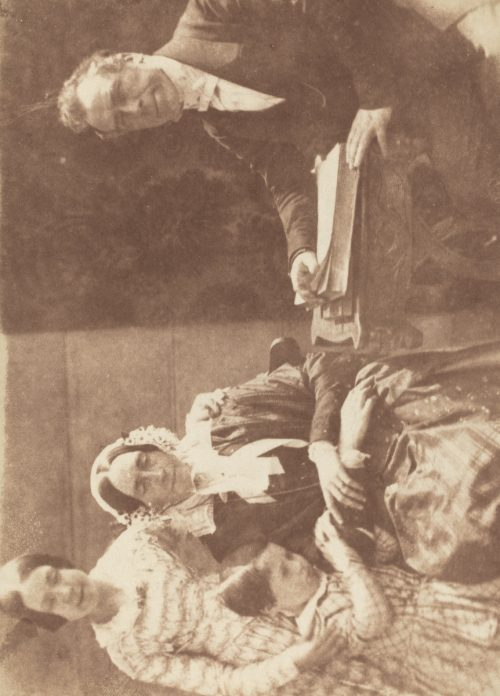 David Octavius Hill and Robert Adamson: Rev Ebenezer Miller and family, 1843-47