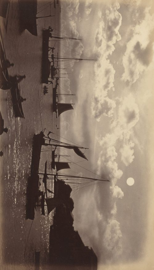 Eadweard Muybridge: Moonlight Effect-Bay of Panama, 1877