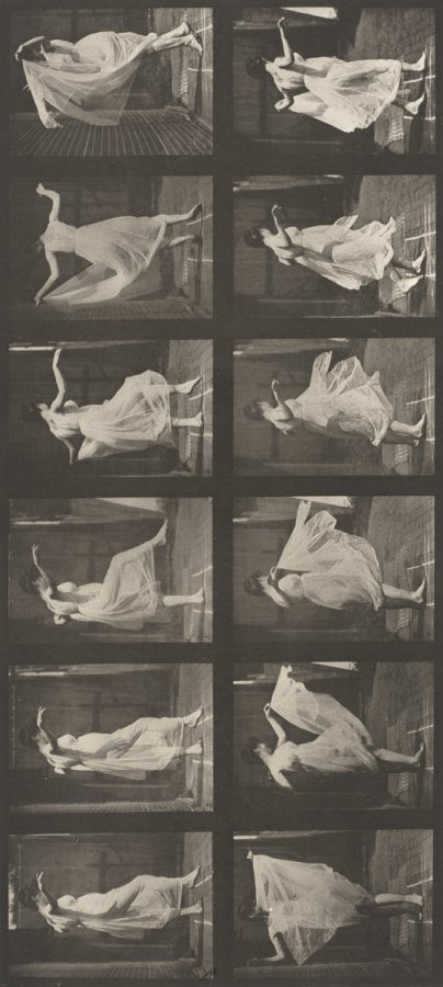 Eadweard Muybridge: Plate Number 188. Dancing (fancy), 1887