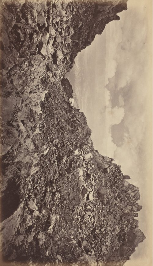 Eadweard Muybridge: Quezaltenango from the Crater of a Volcano, 1877