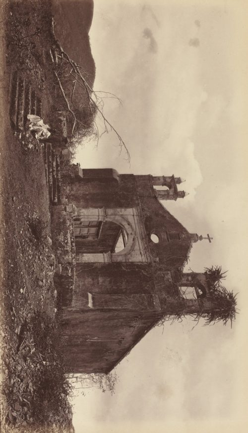 Eadweard Muybridge: Ruins of the Church of San Miguel, Panama, 1877