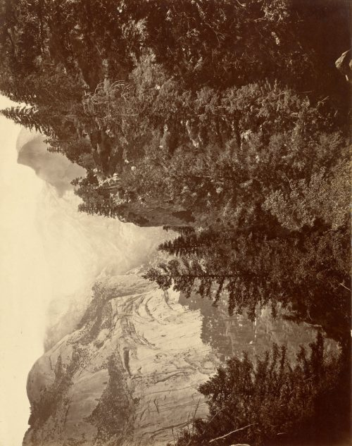 Eadweard Muybridge: Tenaya Canyon from Union Point, Valley of the Yosemite, 1872