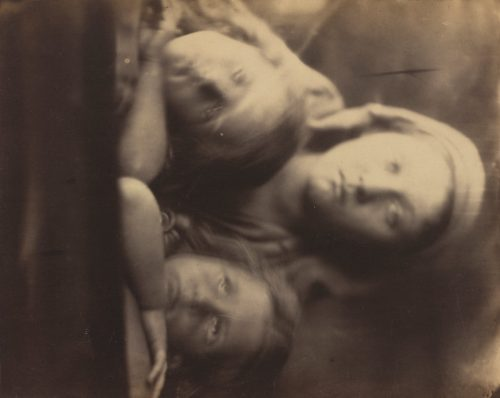 Julia Margaret Cameron: Mary Hillier and Two Children, 1864