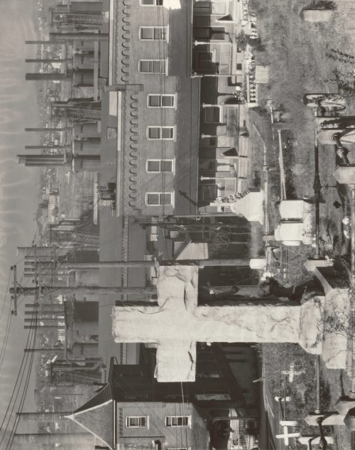 Graveyard, Houses and Steel Mill, Bethlehem, Pennsylvania; Walker Evans (American, 1903 – 1975); 1935