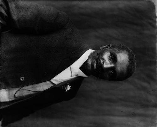 Frances Benjamin Johnston: [George Washington Carver, half-length portrait, facing right, Tuskegee Institute, Tuskegee, Alabama]