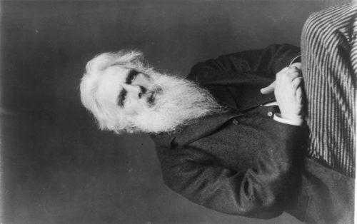 Frances Benjamin Johnston: [Eadweard Muybridge portrait]