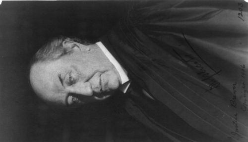 Frances Benjamin Johnston: [David Josiah Brewer, Associate Justice, Supreme Court, half-length portrait, facing left]