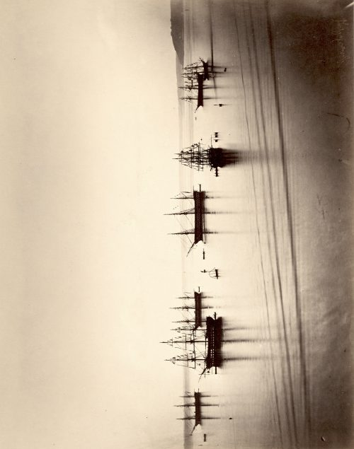 Gustave Le Gray: The French Fleet, Cherbourg, August 4-6, 1858