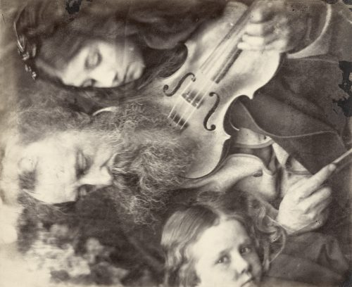 Julia Margaret Cameron: The Whisper of the Muse / Portrait of G.F. Watts, April 1865
