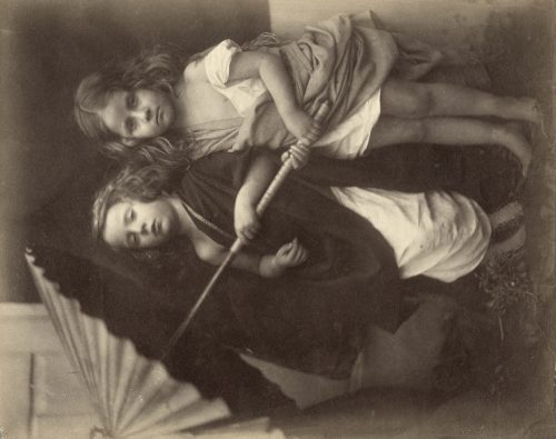 Julia Margaret Cameron: [Paul and Virginia], 1864