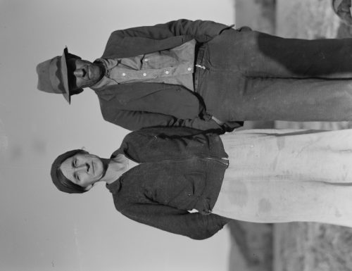 Dorothea Lange: Refugees from the 1936 drought. Came to California for a new start. Now migratory agricultural workers