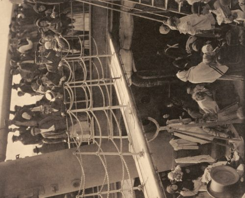Alfred Stieglitz: The Steerage, 1907