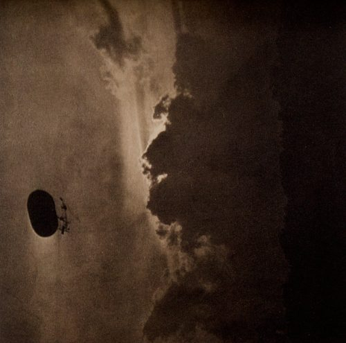 Alfred Stieglitz: The Dirigible, 1910
