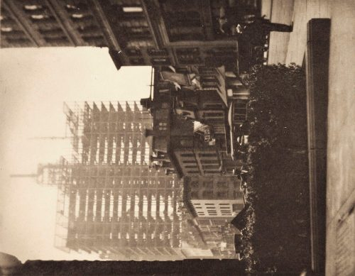 Alfred Stieglitz: Old and New New York, 1910