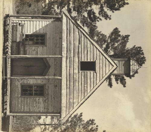 Walker Evans: Wooden Church, South Carolina