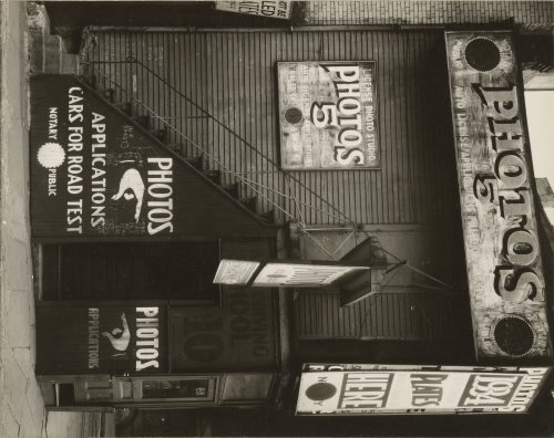 Walker Evans: License Photo Studio, New York, 1934