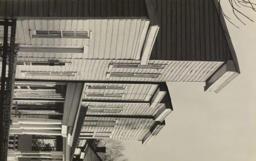 Walker Evans: Frame Houses in Virginia, 1936
