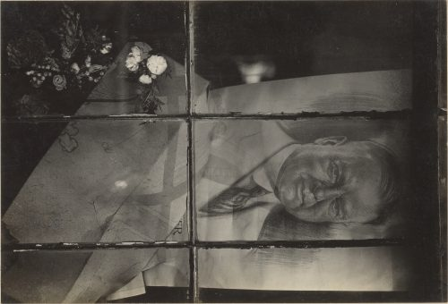Walker Evans: Political Poster, Massachussetts Village