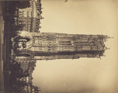 Gustave Le Gray: The Tour St. Jacques, about 1857–1859